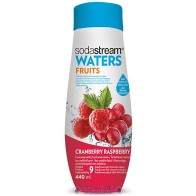 SodaStream WATERS FRUITS Vörösáfonya-málna szörp 440 ml