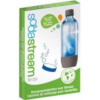 Tisztító tabletta SodaStream üvegekhez, palackokhoz, 1 csomag 10 db-ot tartalmaz.
