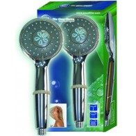 Aquafilter zuhanyfej klór-, baktérium- és vízkő csökkentő szűrőbetéttel
