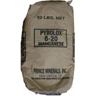 Vas- és mangán eltávolító PYROLOX töltet
