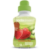 SodaStream Green Tea Kiwi-Eper, szörp 750ml