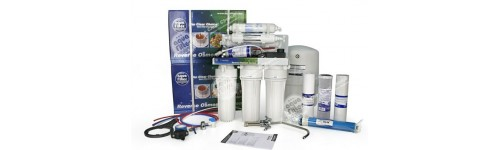 Fordított ozmózisos és nanoszűrős tartályos beépíthető víztisztítók (hagyományos kivitel)