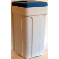 Sóoldó tartály vízlágyítókhoz, komplett, 25 literes, védőcsővel